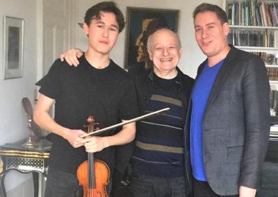 Eduard Wulfson & Daniel Lozakovich & Kristof Baráti