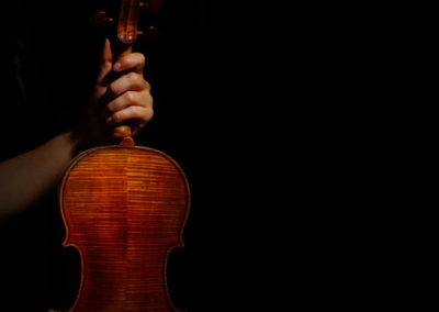 Violin & hand